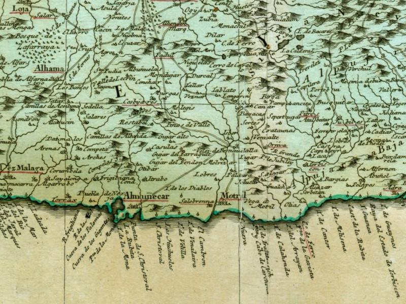 Mapa Alhama De Granada.Historia De Alhama De Granada