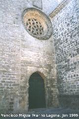 Catedral de baeza fachada oeste - Puerta de la luna baeza ...
